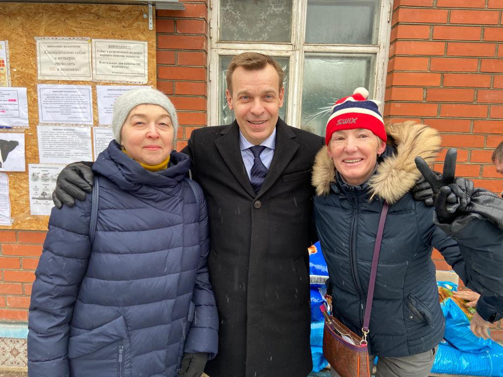 нас поздравил с новым годом депутат мосгордумы Игорь владимирович бускин!!!